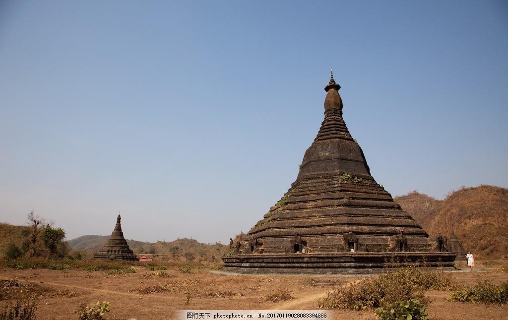 缅甸景观 蒲甘 寺庙 佛像 佛塔 摄影 建筑园林 建筑摄影