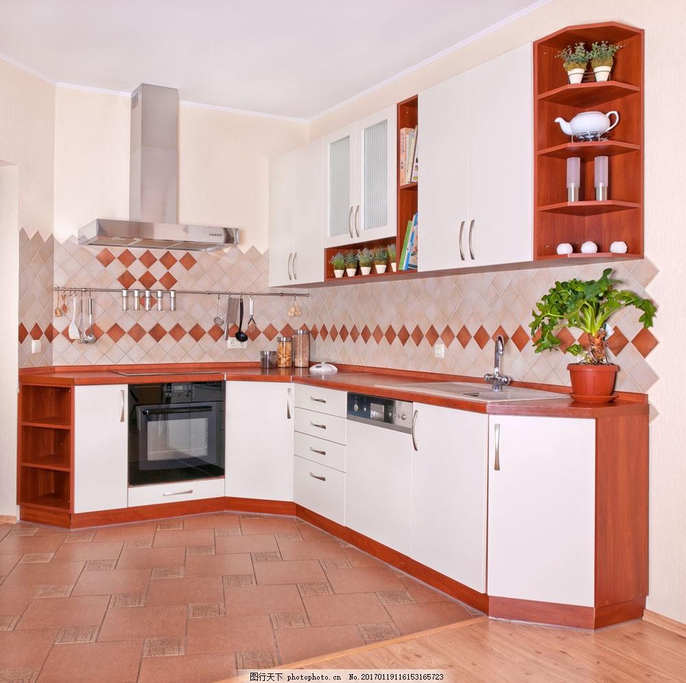 彩色系列厨房设计图片