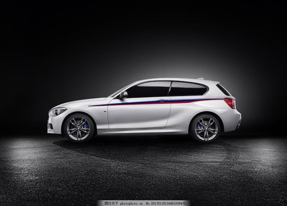 白色轿车侧面 白色轿车侧面图片素材 汽车 工业生产 小车 交通工具