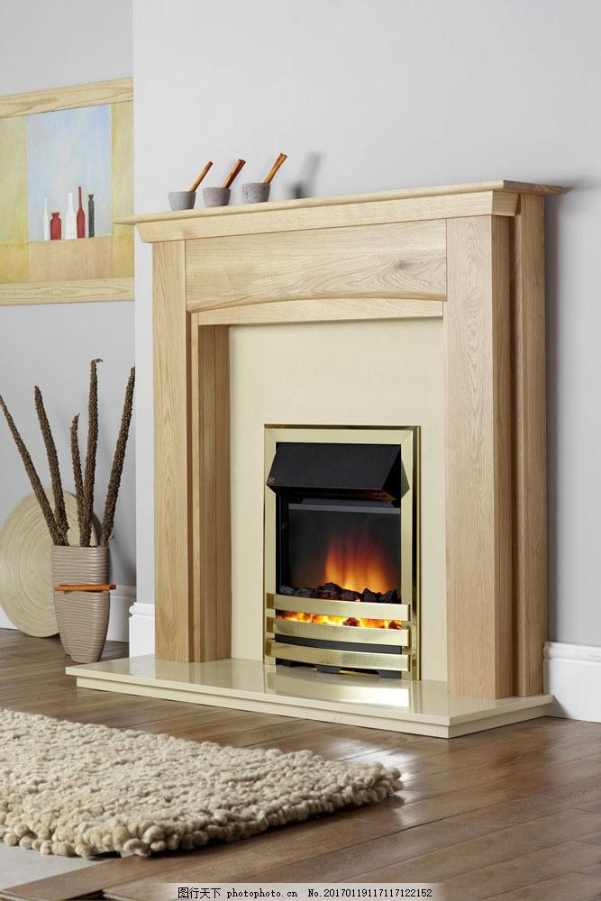 暖色调壁炉效果图 暖色调壁炉效果图图片素材 地毯 欧式家具 时尚家具