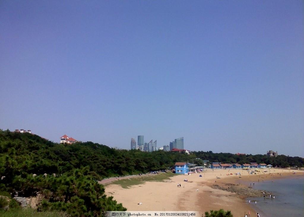 青岛海岸 海岸 自然风光 青岛 阳光海滩 沙滩 摄影 自然景观 自然风景