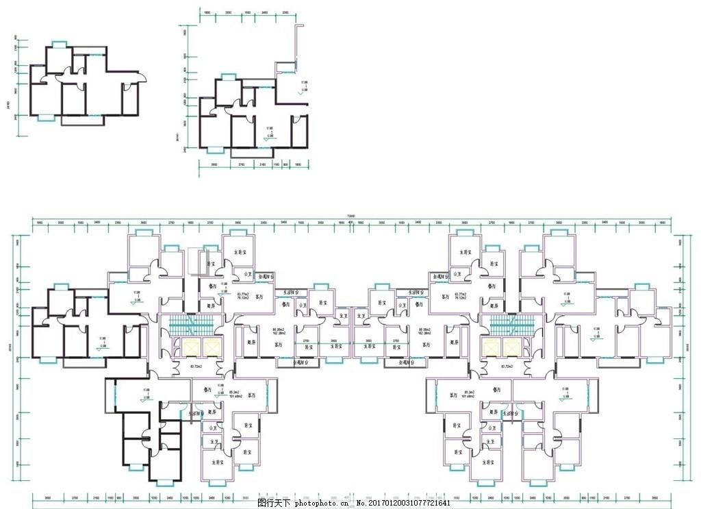 矢量 cdr 房地产海报 室内户型图 阳台 客厅 主卧 卫生间 小区房 大