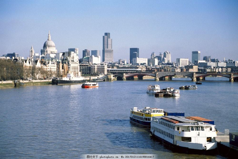 码头风景图片素材 城市 城市建筑 城市标识 英国 伦敦 现代城市 码头