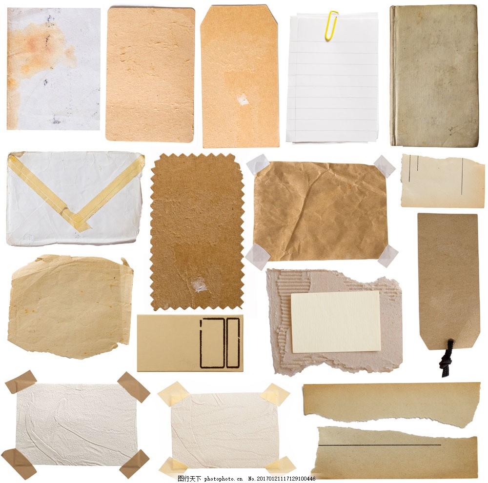 纸张胶布背景图片素材 胶布 胶带 粘贴 撕边 撕纸 纸张背景 纸张纹理