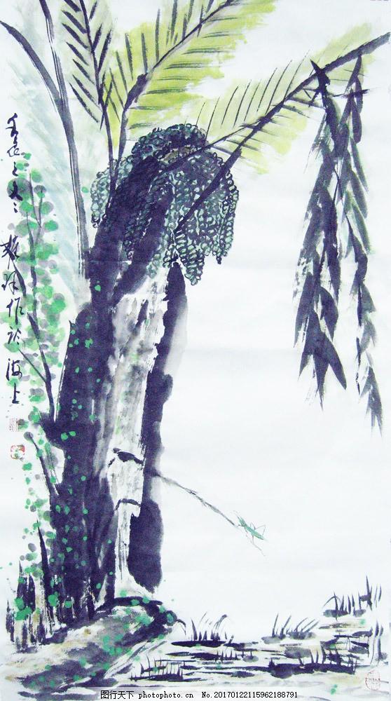 水墨风景国画图片素材 水墨画 山水画 风景画 名画 国画 中国画 绘画