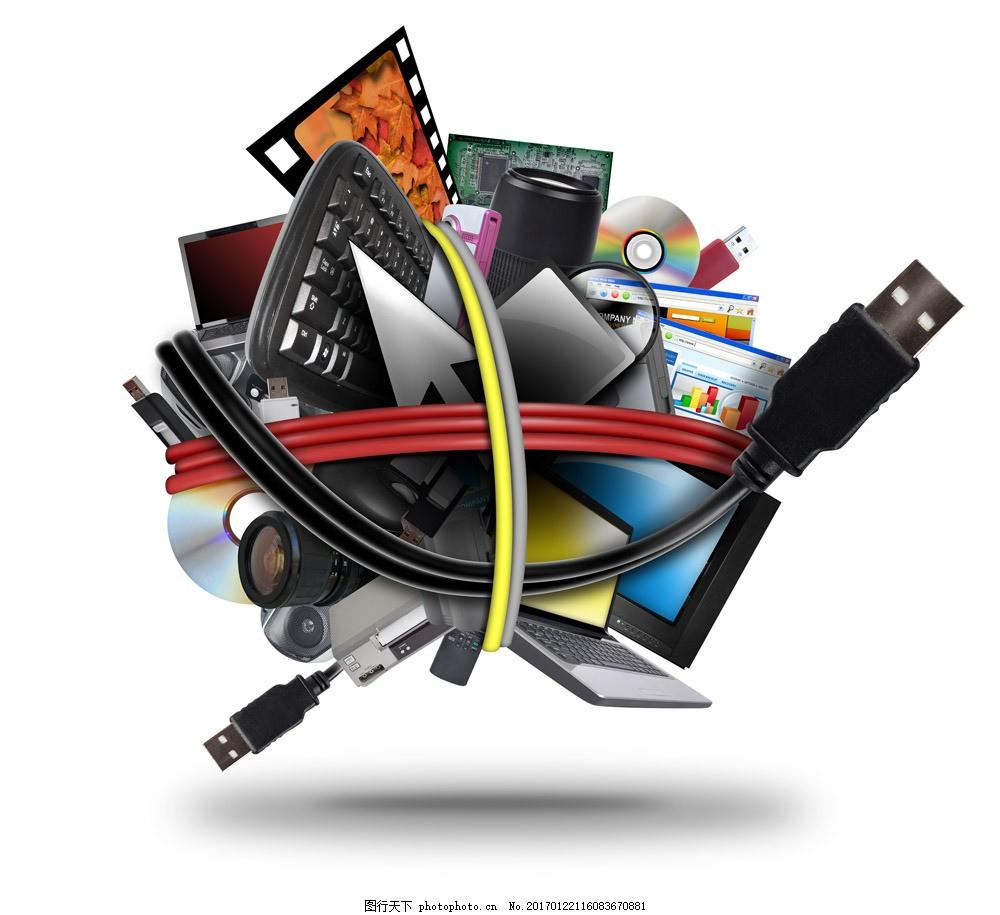 电脑网络数码科技图片素材 电脑科技 数码科技 镜头 网络科技 信息