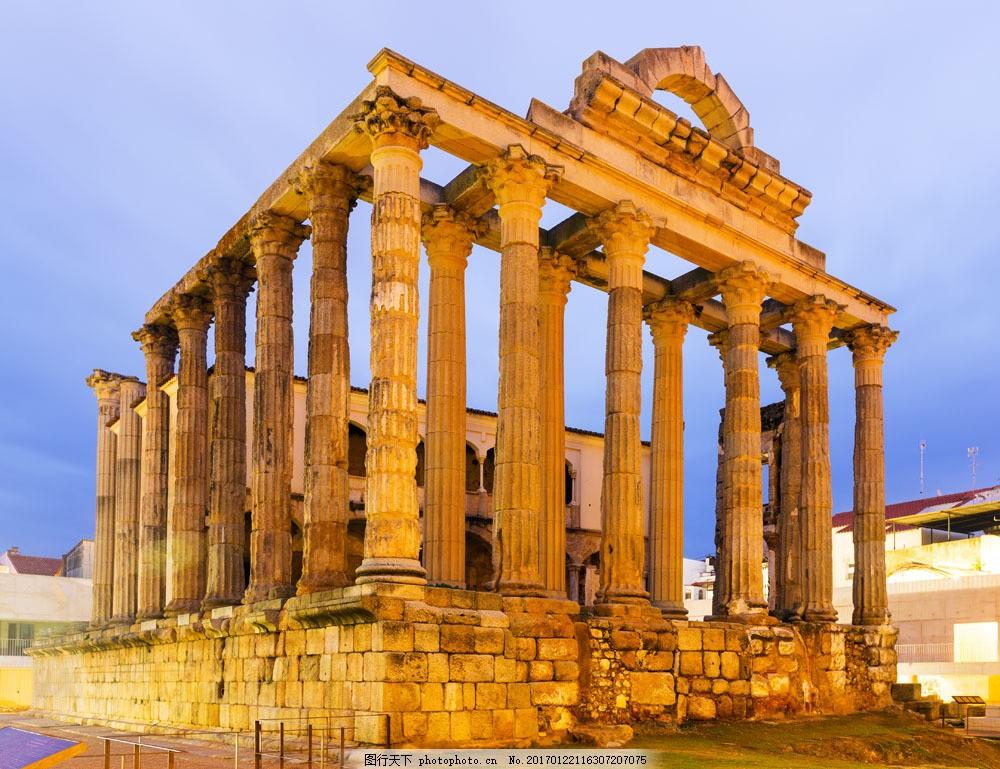 希腊神庙风景图片