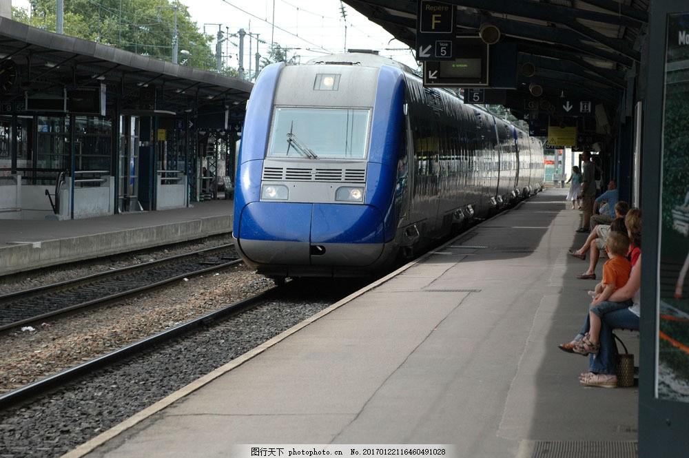 高速列车 高速列车图片素材 高铁 动车 高速铁路 火车 汽车图片