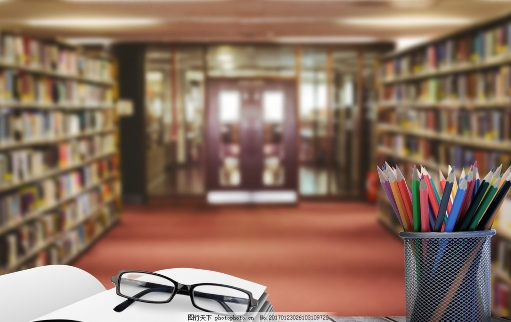 图书馆 唯美 生活 学习 书本 摄影 学习办公