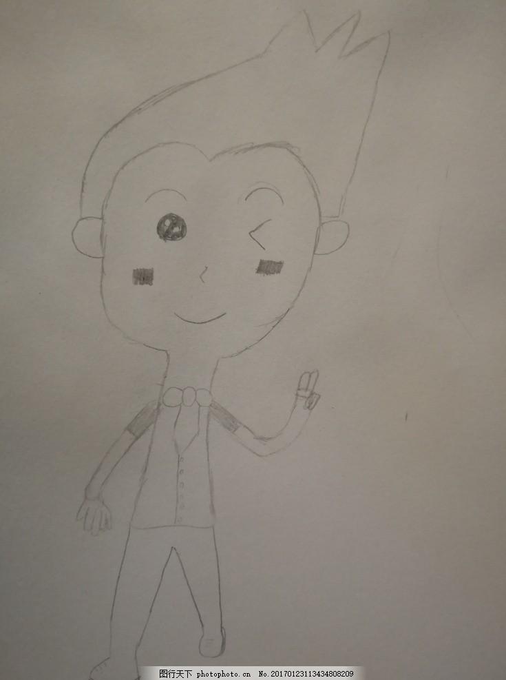 少儿简笔画 儿童 小图画 动漫动画 动漫人物