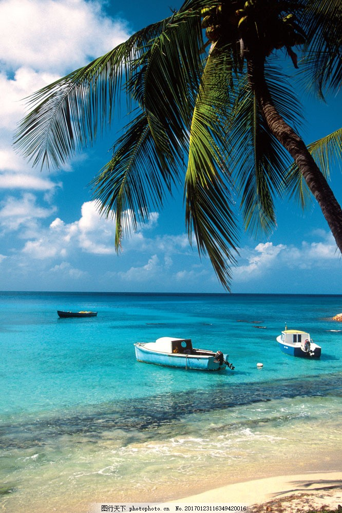 海滩风景图片