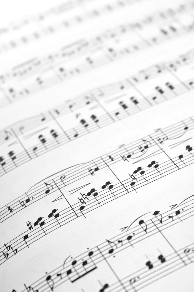 乐谱图片图片素材 小提琴 音乐 乐器 影音娱乐 乐谱 影音娱乐 生活