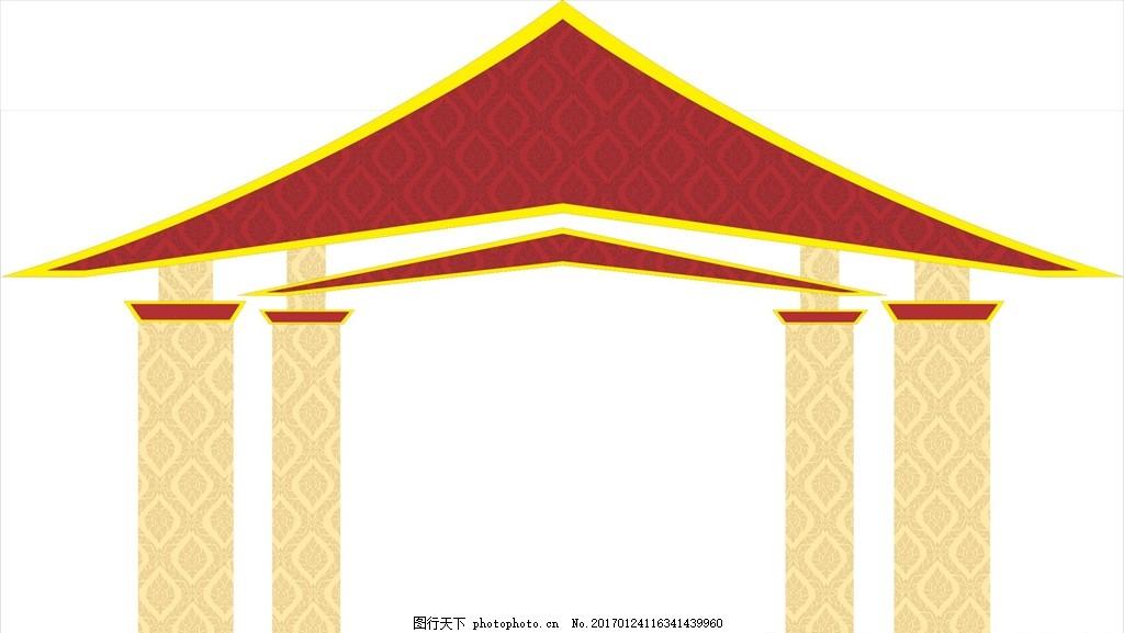 泰式門頭 泰式造型 泰國感覺 泰國造型 泰式門 設計 文化藝術 其他