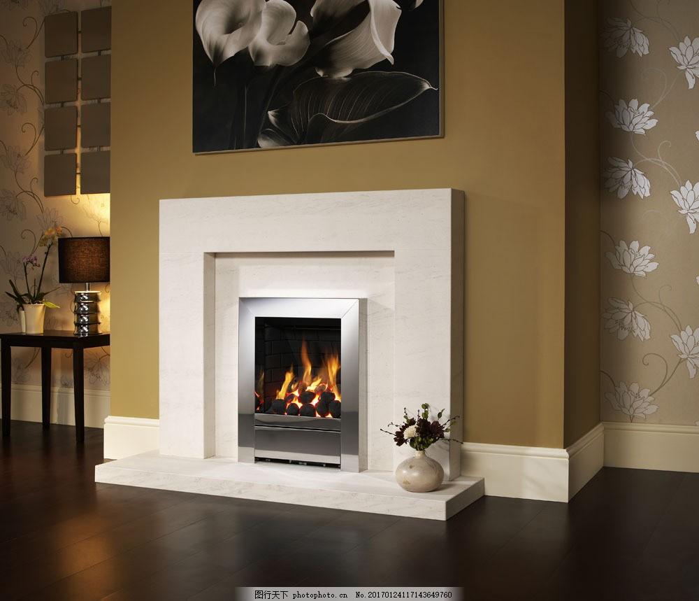 现代壁炉效果图图片素材 壁炉 欧式家具 时尚家具 家居 室内装修