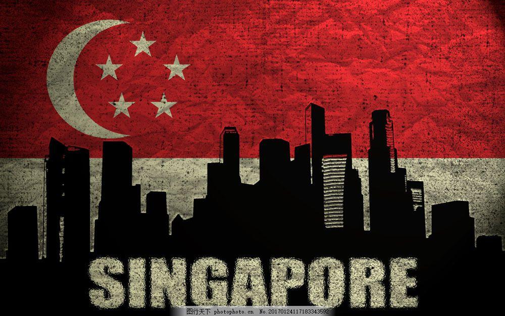 新加坡国旗图片