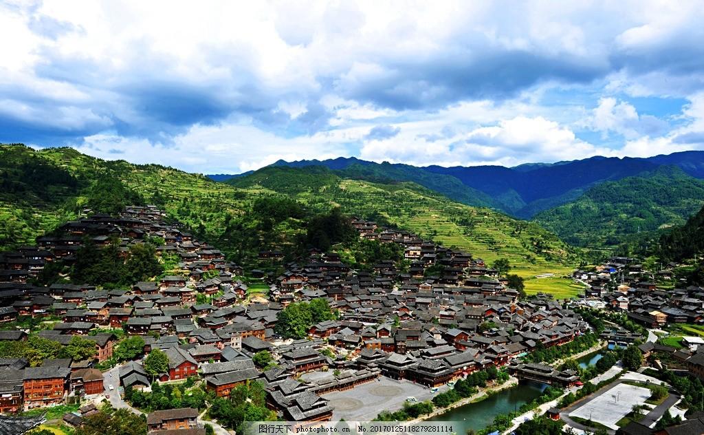 风景 风光 旅行 人文 贵州 千户苗寨 苗寨 苗族建筑 西江 摄影 旅游