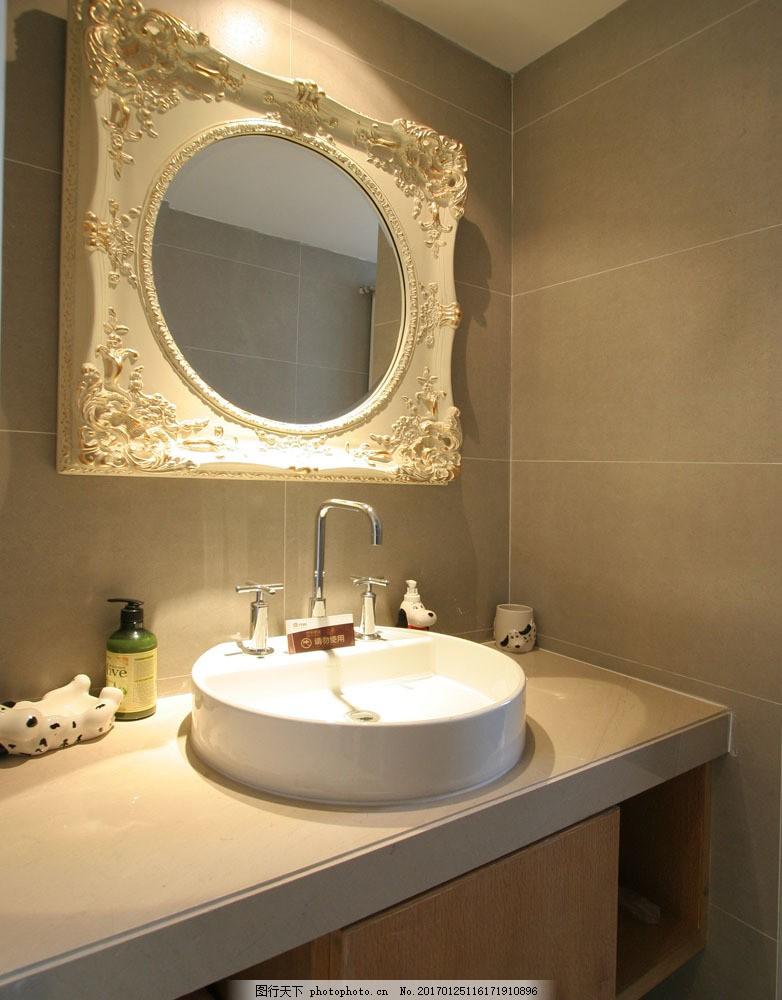 欧式洗手间装修设计图片