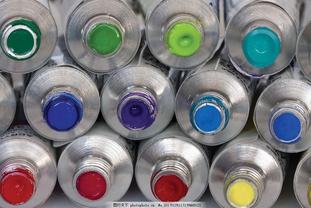 颜料瓶摄影 颜料瓶摄影图片素材 颜色 油漆 颜料桶 色彩 彩色