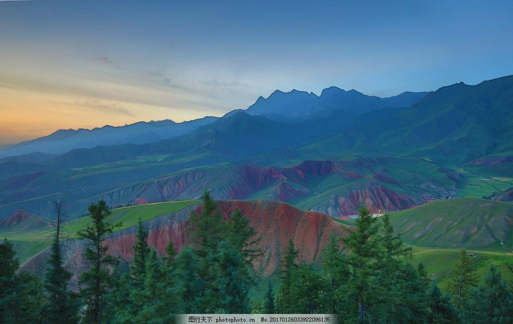 祁连山 唯美 风景 风光 旅行 自然 青海 祁连山脉 秀美祁连山