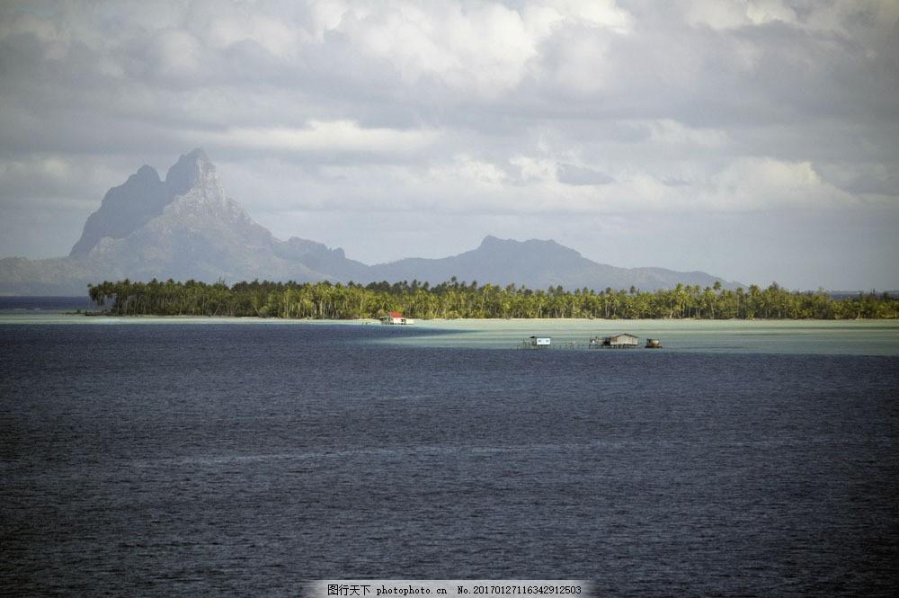 美丽海平面风景图片