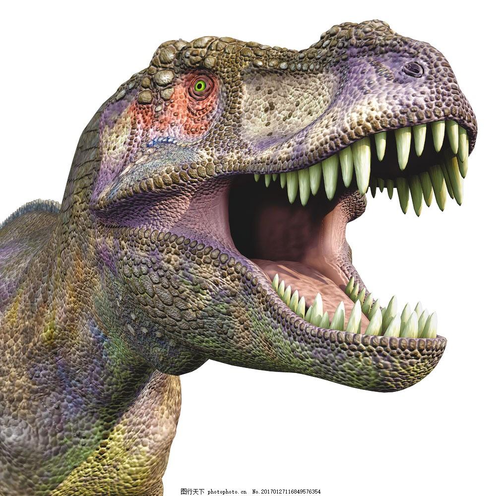 嚎叫的霸王龙图片素材 恐龙 侏罗纪 侏罗纪公园 陆地动物
