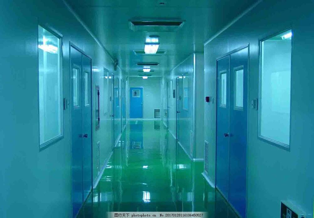 建筑走廊设计图片素材 房子 楼房 走廊 地砖 门 灯 吸顶灯 装饰装修