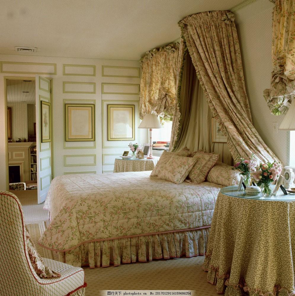 欧式豪华卧室装饰 欧式豪华卧室装饰图片素材 装潢设计 室内设计