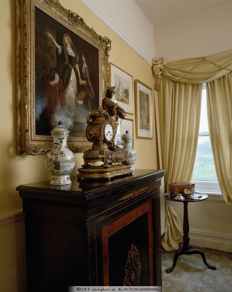欧式豪华室内装饰 欧式豪华室内装饰图片素材 室内装潢 室内装修