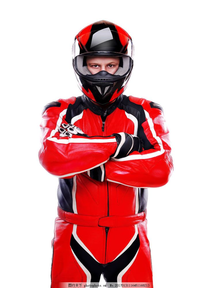 摩托车赛车手图片