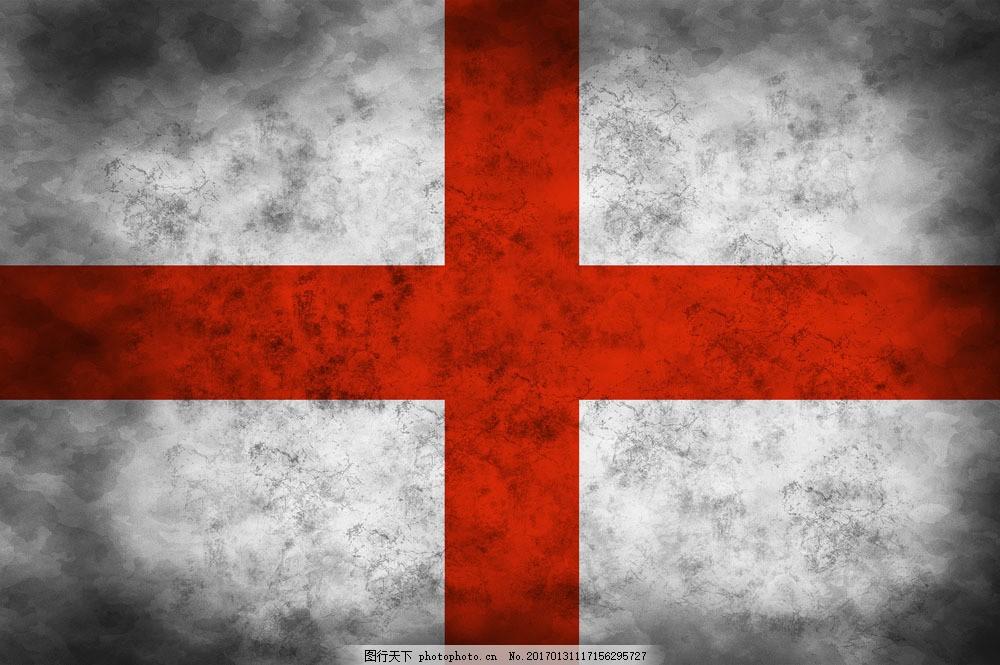 英格兰国旗背景图片