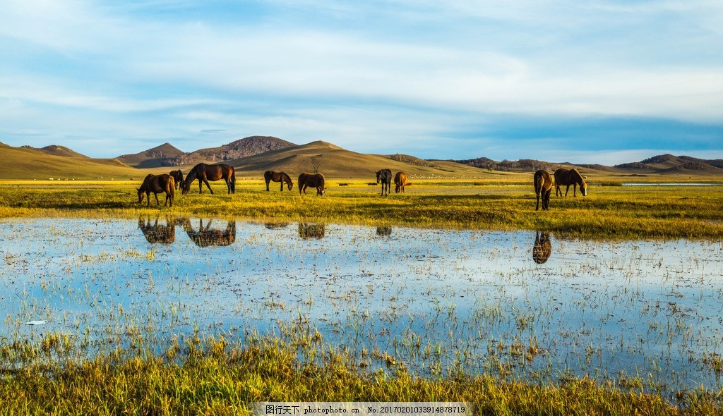 乌兰布统 唯美 风景 风光 旅行 自然 内蒙古 生态乌兰布统 美丽乌兰布