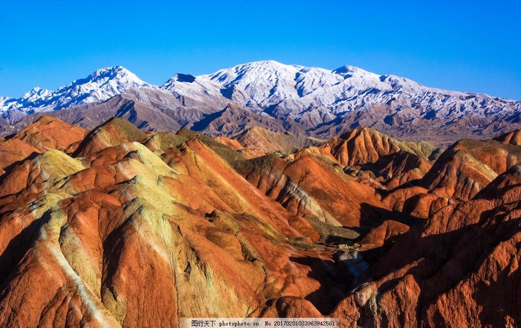 张掖丹霞 唯美 风景 风光 旅行 自然 甘肃 丹霞地貌 摄影 国内旅游