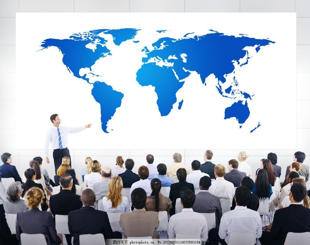 正在做会议讨论的职场人物 正在做会议讨论的职场人物图片素材 世界