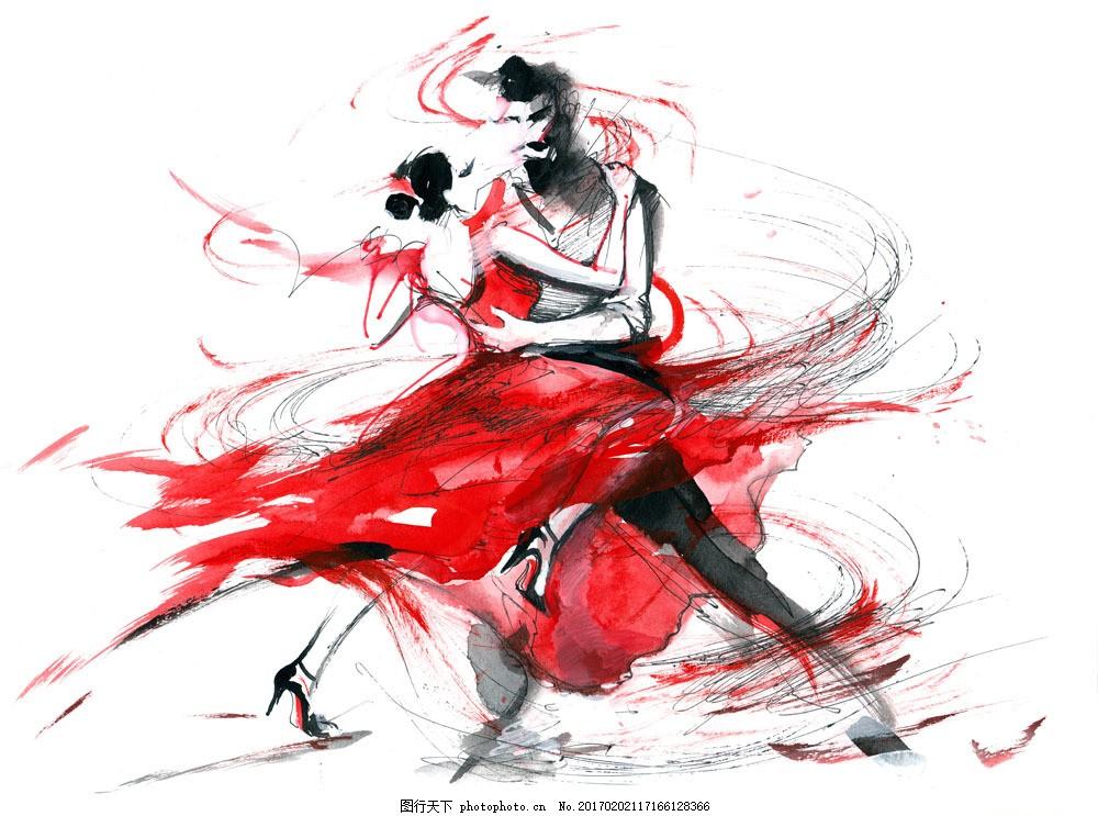 跳舞的女人插画图片素材 跳舞的女人插画 跳舞 舞蹈 舞姿 性感美女