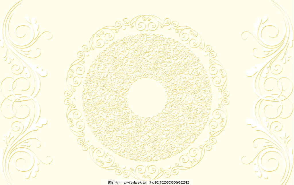 欧式花纹 欧式花朵 花边花纹 大理石纹 电视背景墙 素材背景 设计 psd