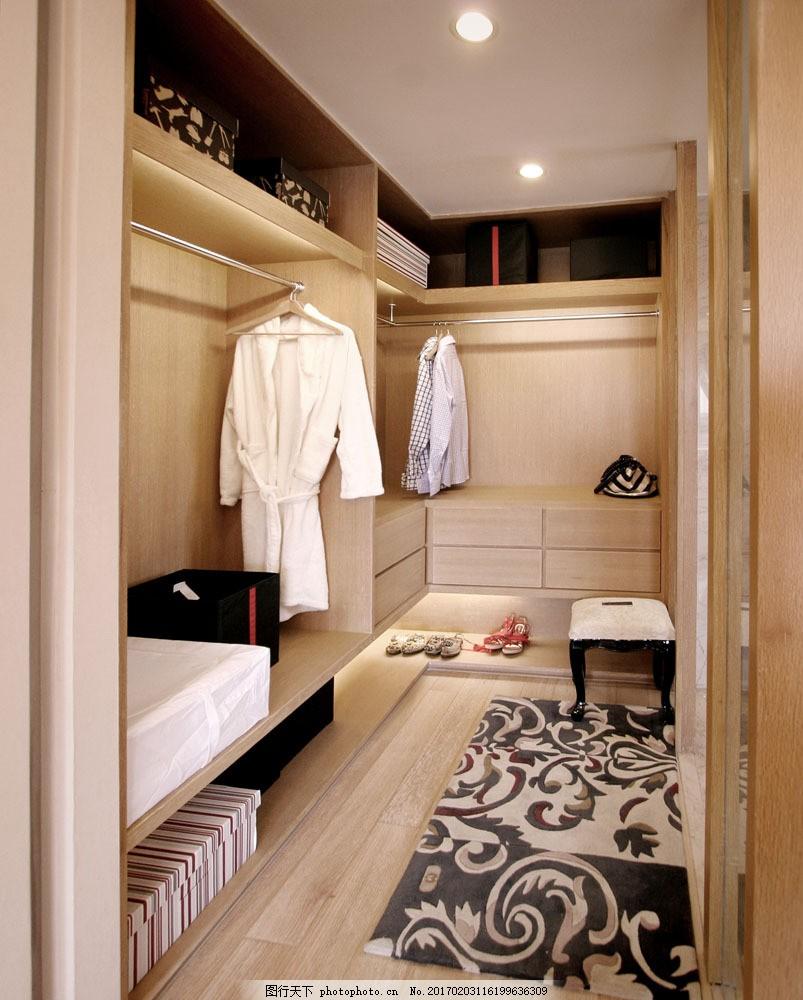金域蓝湾衣帽间 金域蓝湾衣帽间图片素材 柜子 地毯 衣服 室内设计
