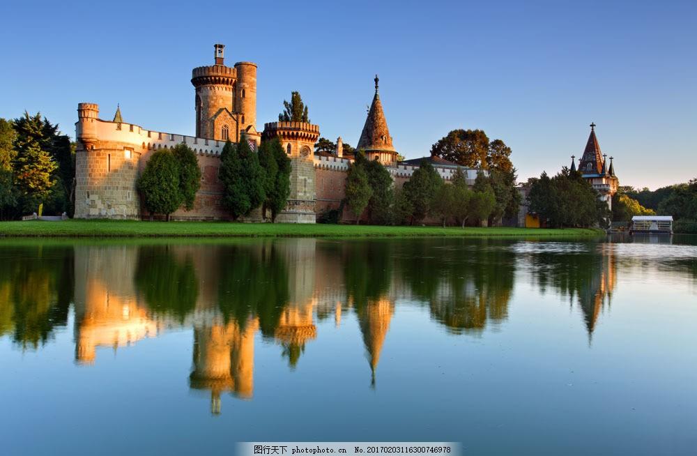 城堡庄园风光摄影 城堡庄园风光摄影图片素材 古堡 欧洲风光 建筑