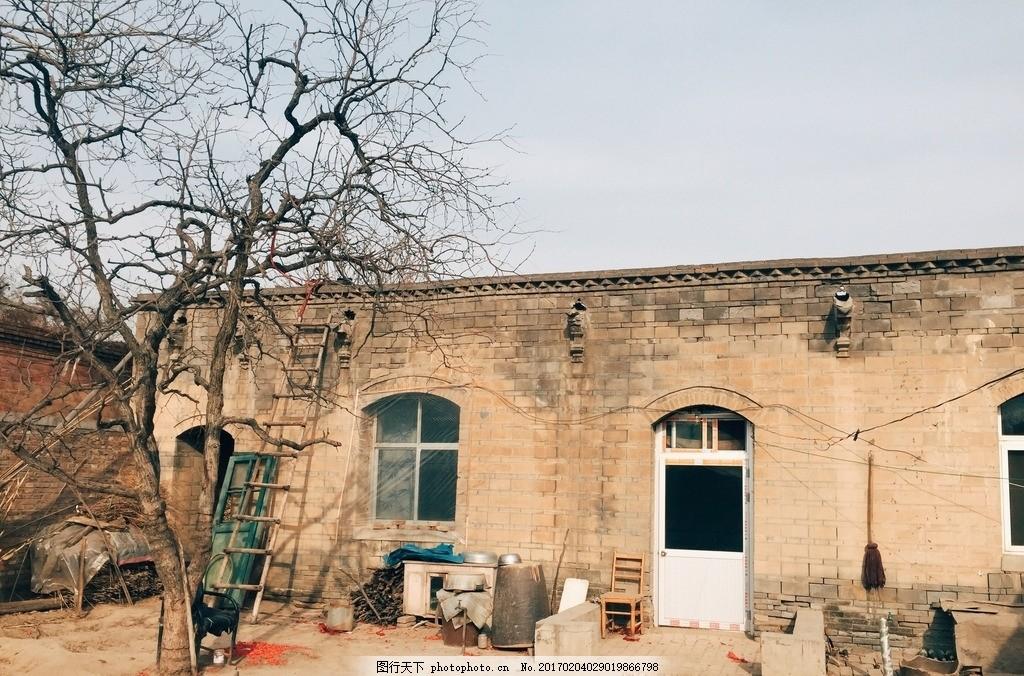 农村老房子 山村风景 田园风光 旧房子 旧建筑 摄影 建筑园林