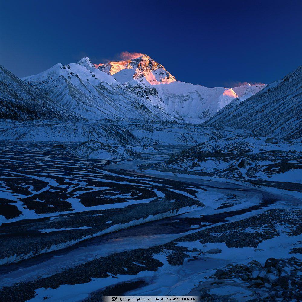 美丽风景 景色 美景 风景摄影 自然风景 风光 珠穆朗玛峰 山水风景 风