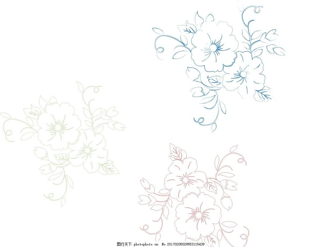线条 矢量素材 卡通素材 素材 矢量线条 素描 手绘 速写 线条画 简洁
