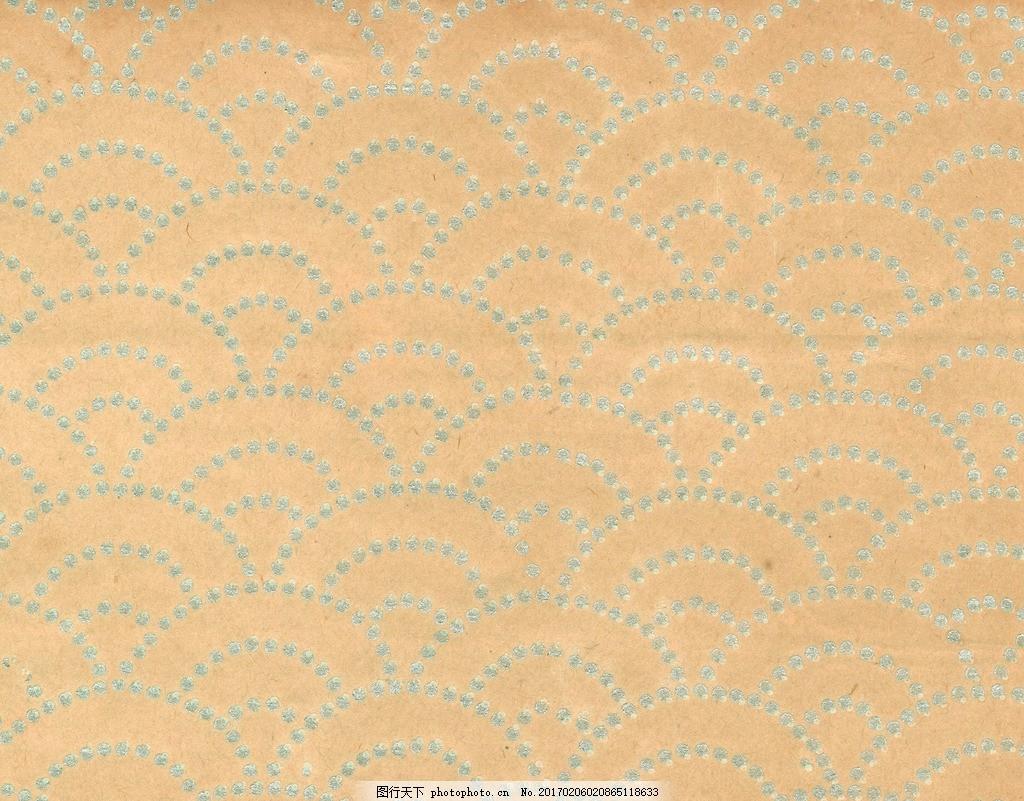 流水 底纹 花 图案素材 设计 日本壁纸图案 设计 底纹边框 其他素材 3