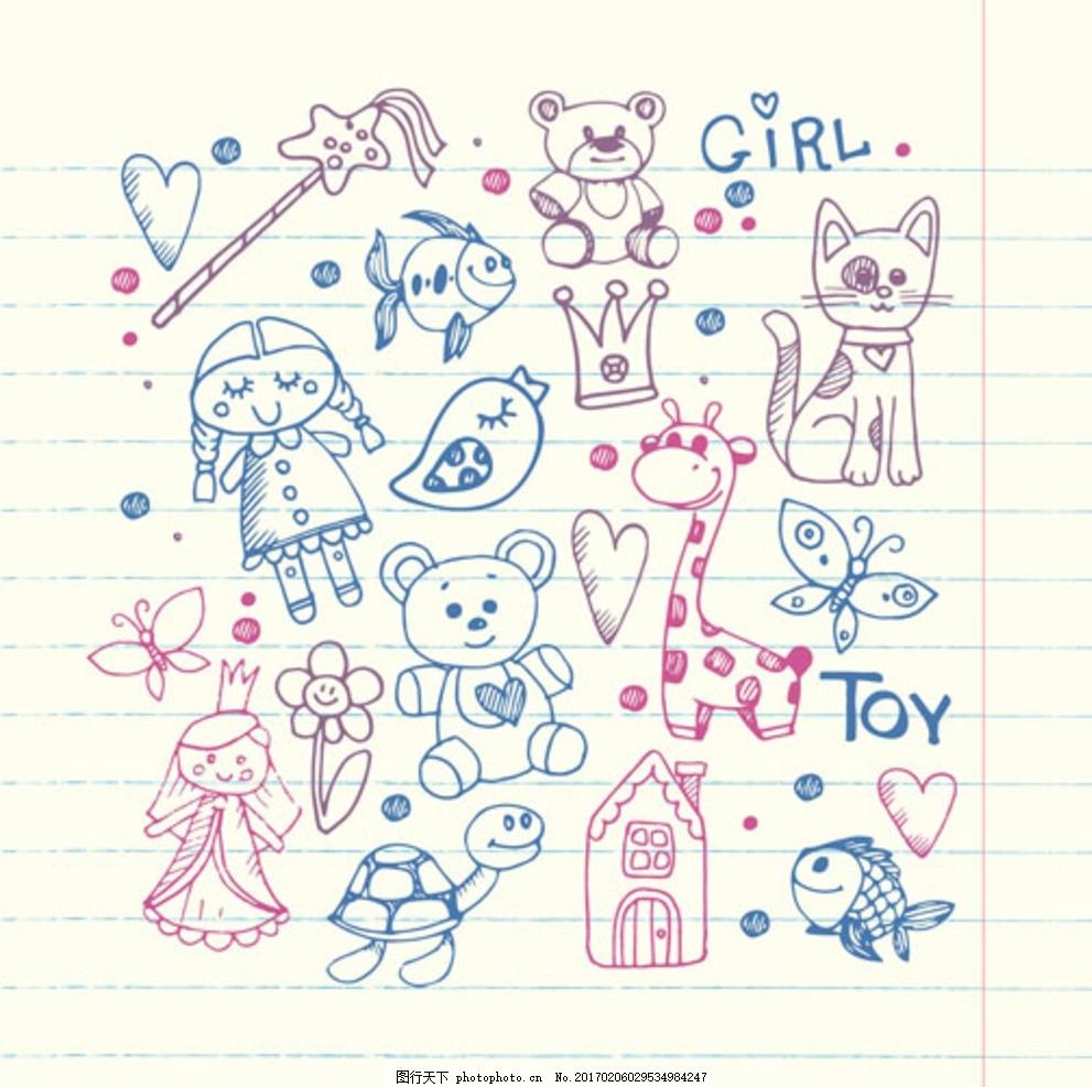 母婴宝宝儿童孩子涂鸦 宝贝 婴儿 幼儿园 小学生 中学生 培训班