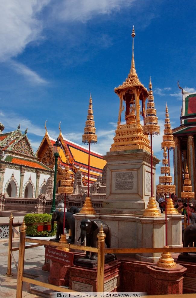 泰国大皇宫 曼谷 泰国建筑 泰国园林 泰国景点 曼谷景点 泰式建筑