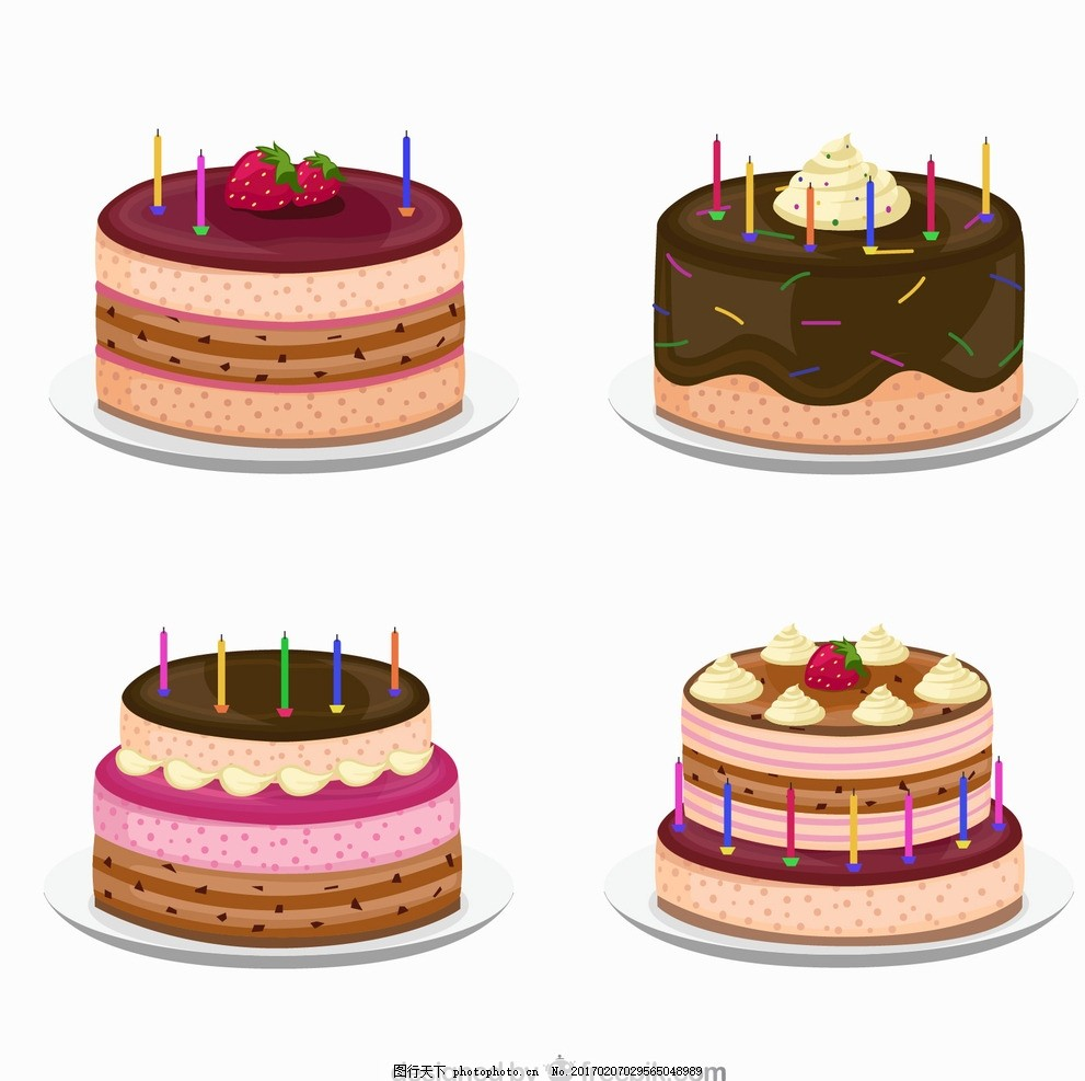 蛋糕 生日蛋糕 蜡烛 生日 生日素材 派对素材 节日气球 生日图标 气球
