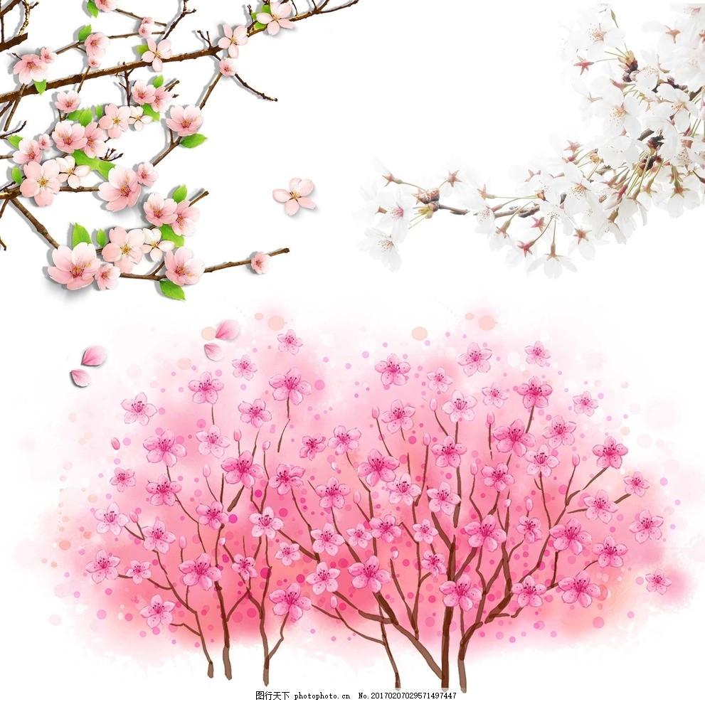 春天的树木和花卉 ppt
