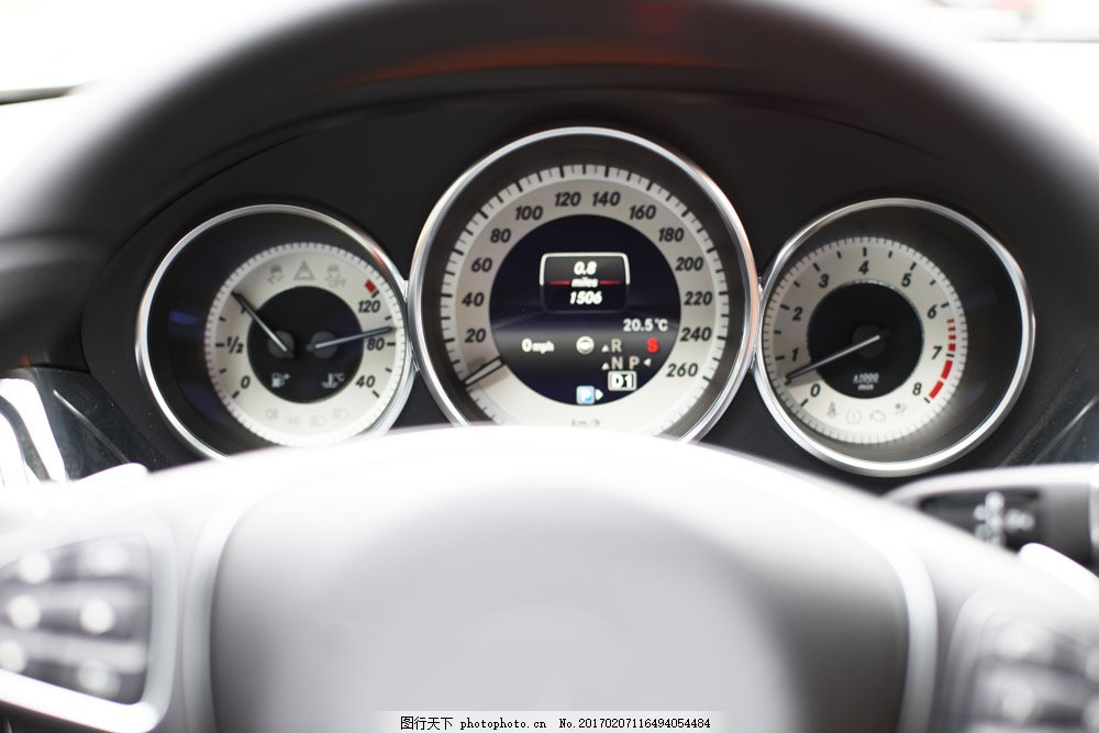小车油表 小车油表图片素材 轿车汽车 车辆 交通工具 汽车图片