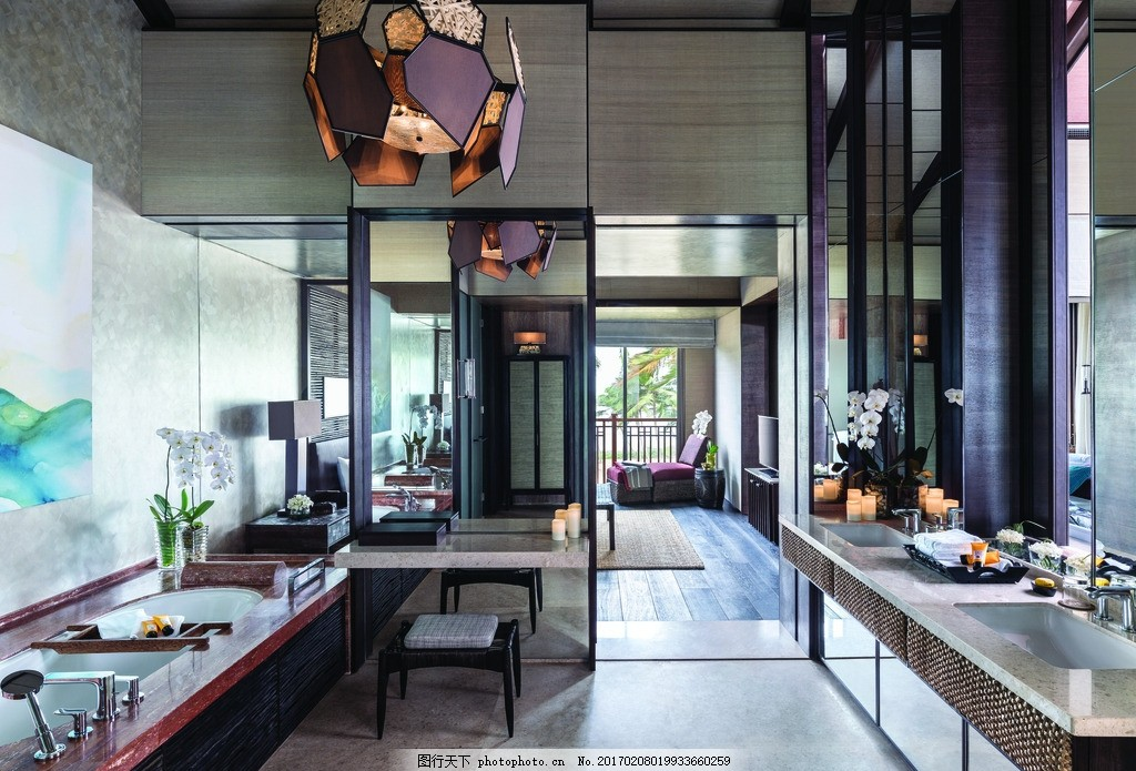 斯里兰卡香格里拉度假酒店 高尔夫套房 豪华海景套房 豪华套房 特色