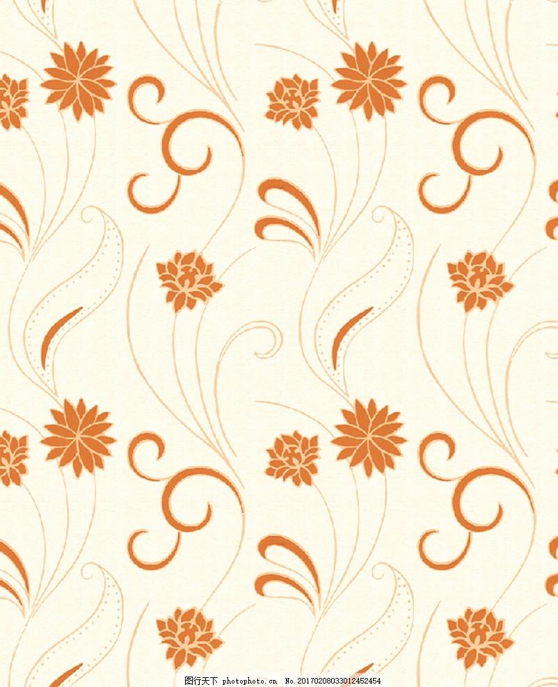 欧式墙纸 欧式花朵 欧式花纹 花边花纹 无缝拼接 墙纸壁纸 设计 psd分