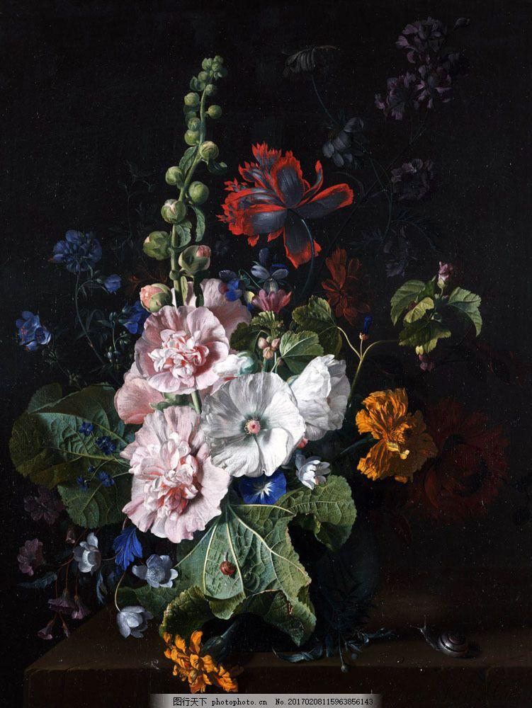 装饰画 油画 绘画艺术 抽象画 风景油画 风景写生 静物写生 鲜花 花朵