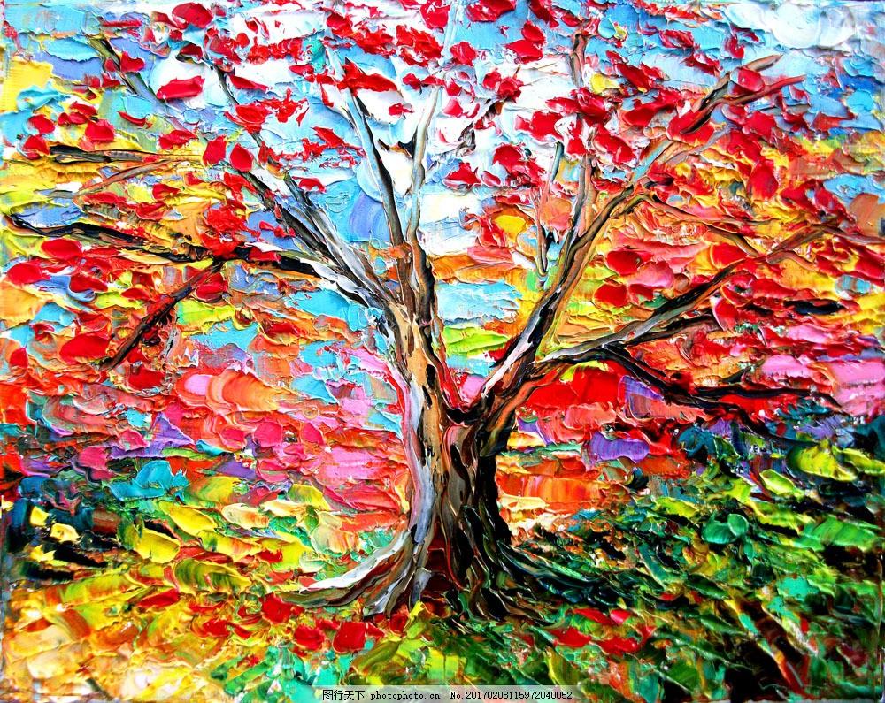 印象派油画写生 印象派油画写生图片素材 风景油画 风景写生 绘画艺术